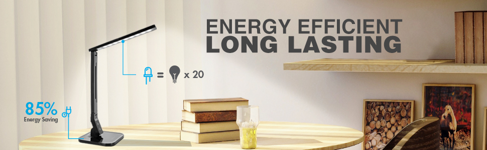 Energy efficient long lasting led lamp
