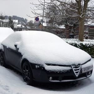 snow car cover