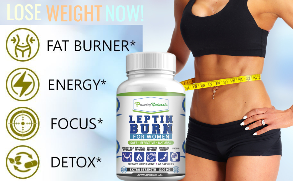 Leptin Burn for women is a safe effective natural weight loss supplements.