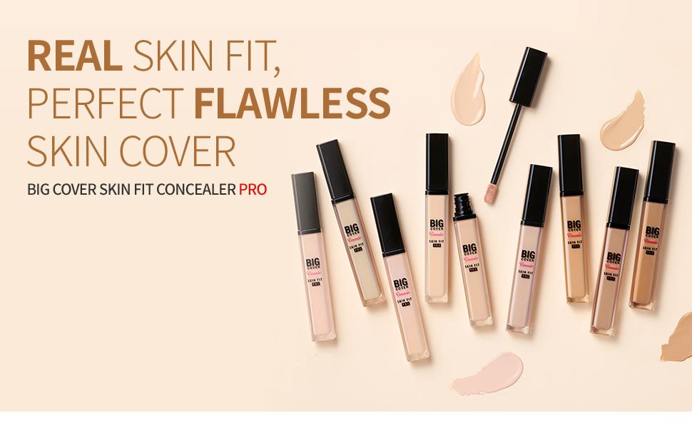 Big Cover Skin Fit Concealer PRO