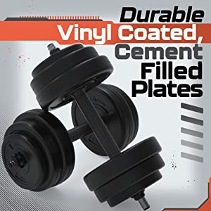 Vinyl dumbells