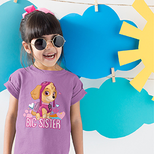 girls paw patrol shirt skye rubble MARSHALL RYDER CHASE ROCKY