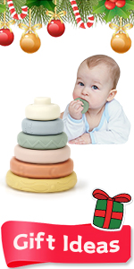Mini Tudou Baby Stacking Rings