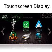 Zenec Z-N528: Moniceiver, Auto, 2 Din, Navi, DAB, Infotainer, Radio, Touchscreen