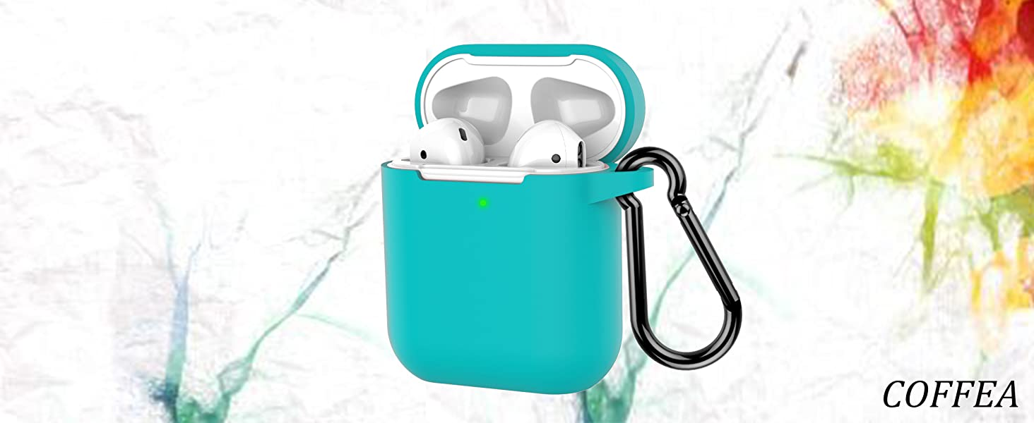 AirPods case Turquoise Blue