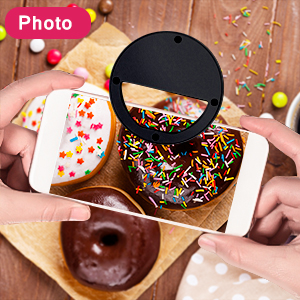 Photography fill ring light