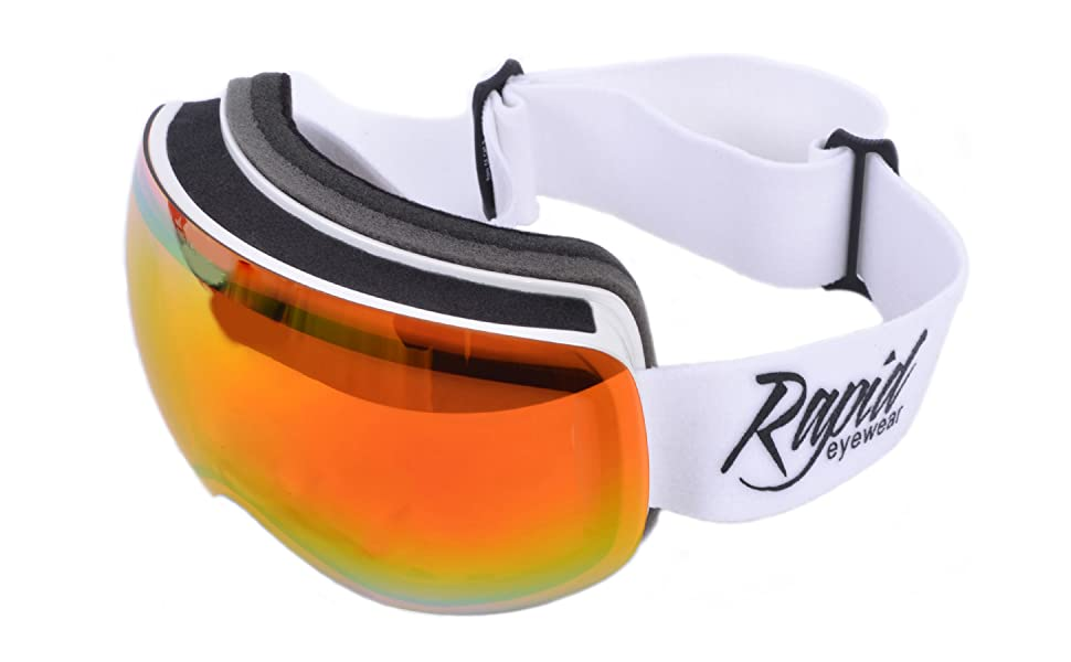 PRESCRIPTION SKI GOGGLES Rx Optical Insert Corrective Lenses for Glasses Wearers