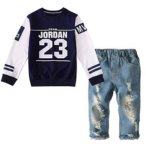 boys jeans set