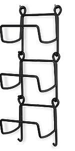 metal shelves for storage shelf with hooks cabinet storage door hook towel sets wine racks