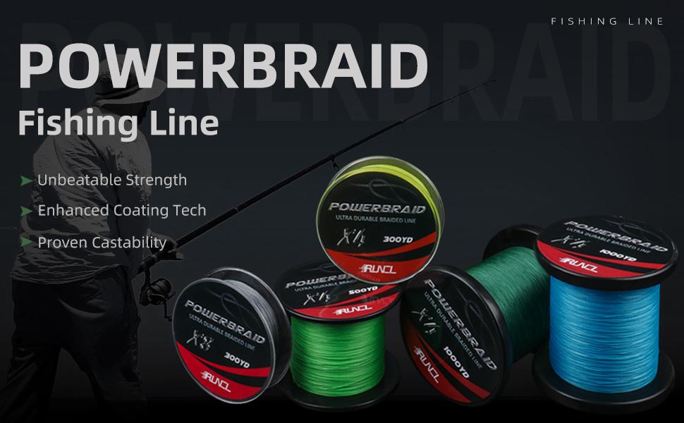 braided fishing line