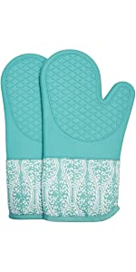 oven mitts gloves pot holders