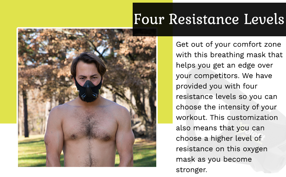 High altitude & exercise mask.