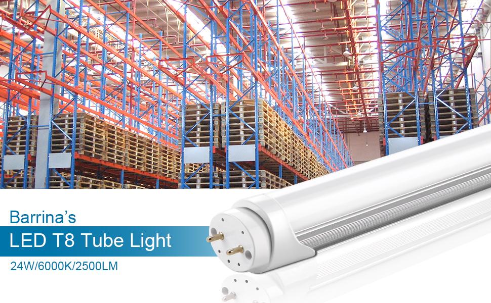 LED T8 bulbs