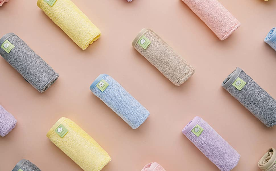 Baby Challenge the lowest price Washcloth - Bamboo Washcloths Soft ...
