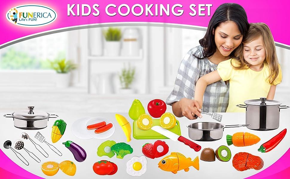 Kids Cookking Set