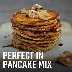 Perfect in pancake mix