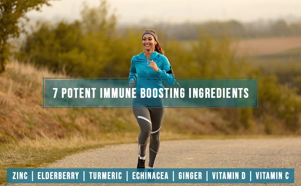 immune support zinc capsules booster system immunity vitamin c d d3 gummy gummies echinacea turmeric