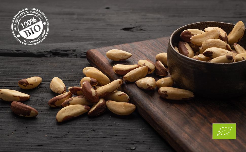 Biojoy Nueces de Brasil crudas Ecologicas, sin sal y naturales (1 kg): Amazon.es: Alimentación y bebidas