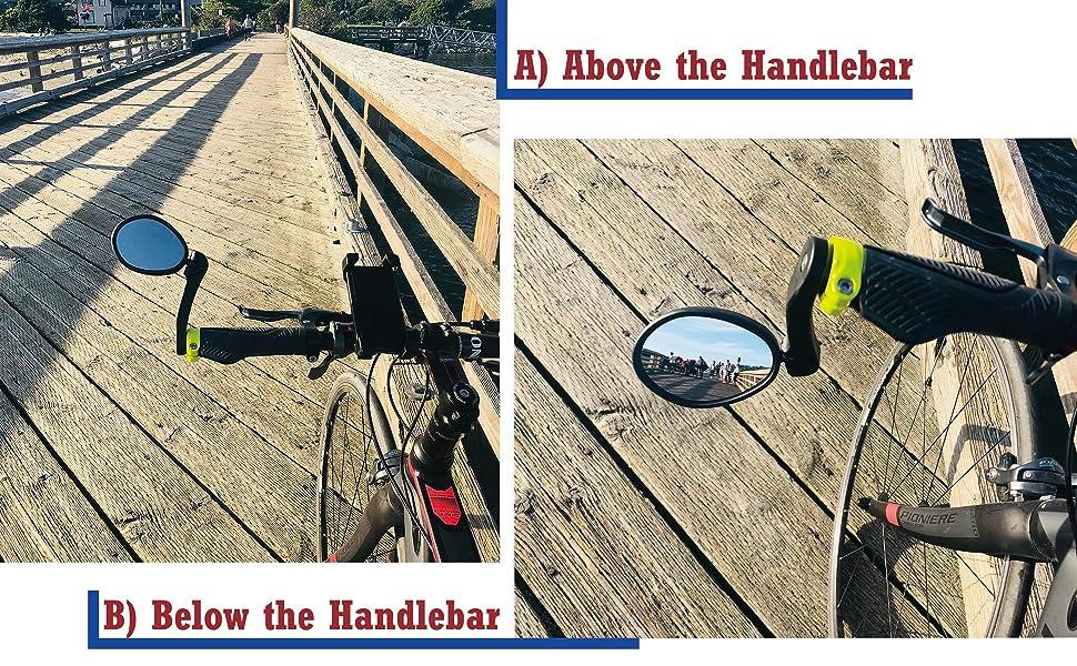Hafny Bike Mirror, Bar End Bike Mirror, HF-M854-FR04