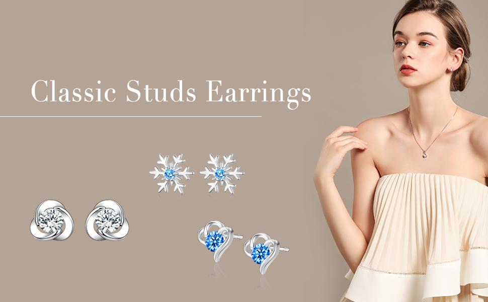 Diamonds Studs Earrings