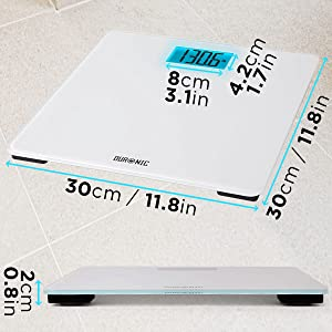 size, shape, dimensions, centimetre, inches, inch, length, width, height, square, screen, digital