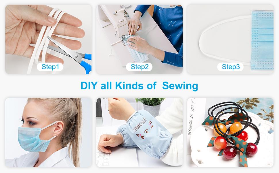 Doe-het-zelf allerlei soorten naaien