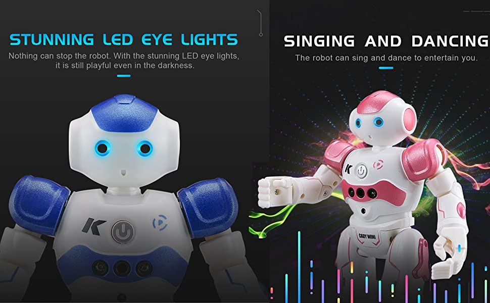 dance robot sing robot music robot