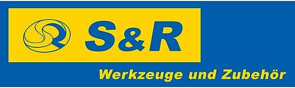 S&R S+R SR gereedschap accessoires logo