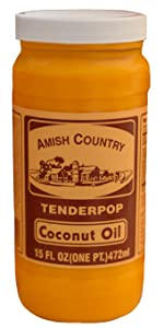 Coconut Oil Amish Country Popcorn Topping Seasoning