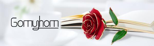 Gomyhom 24k Gold Rose