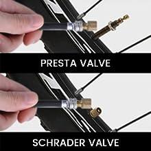 Presta/Schrader Adapter