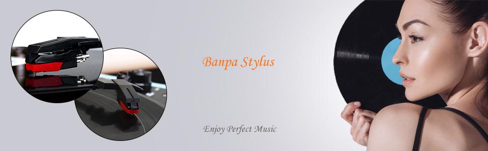 banpa record player stylus