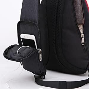 sling backpack