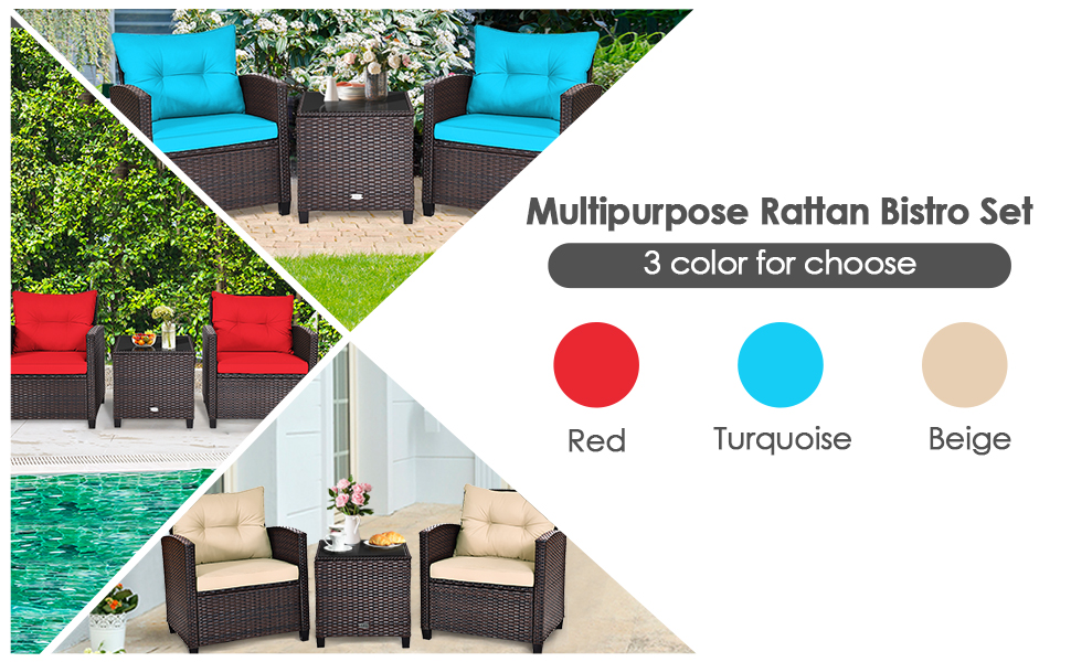 outdoor furniture set for 2 person