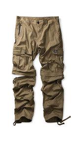 mens convertible pants