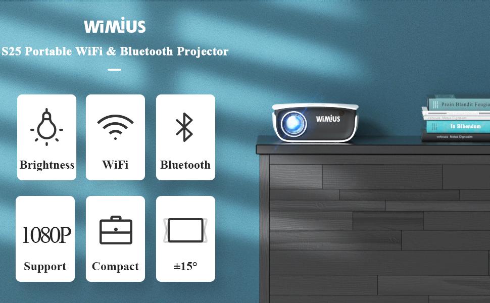WiMiUS S25 Projector