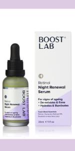 Boost Lab Night Renewal Serum