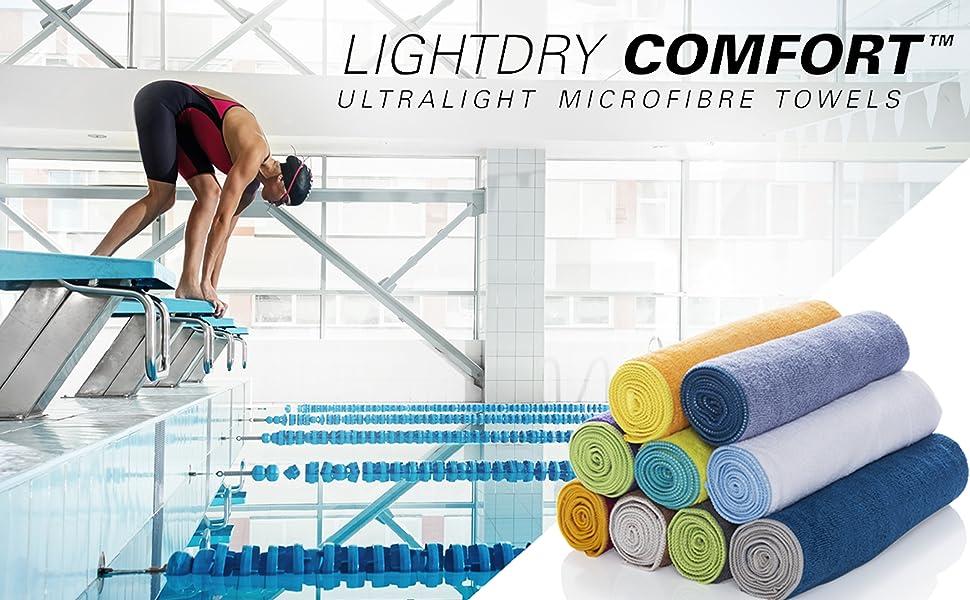 sport und fitnesshandtuch aus mikrofaser lightdry reisehandtuch strandhandtuch mikrofaser