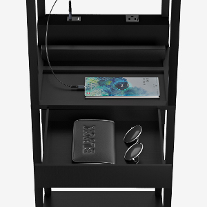charging station and drawer