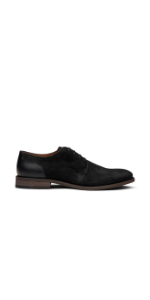 Dunross amp; Sons Sebastian Men's Shoes. Casual Waxed Suede Plain Toe Lace-Up Oxford