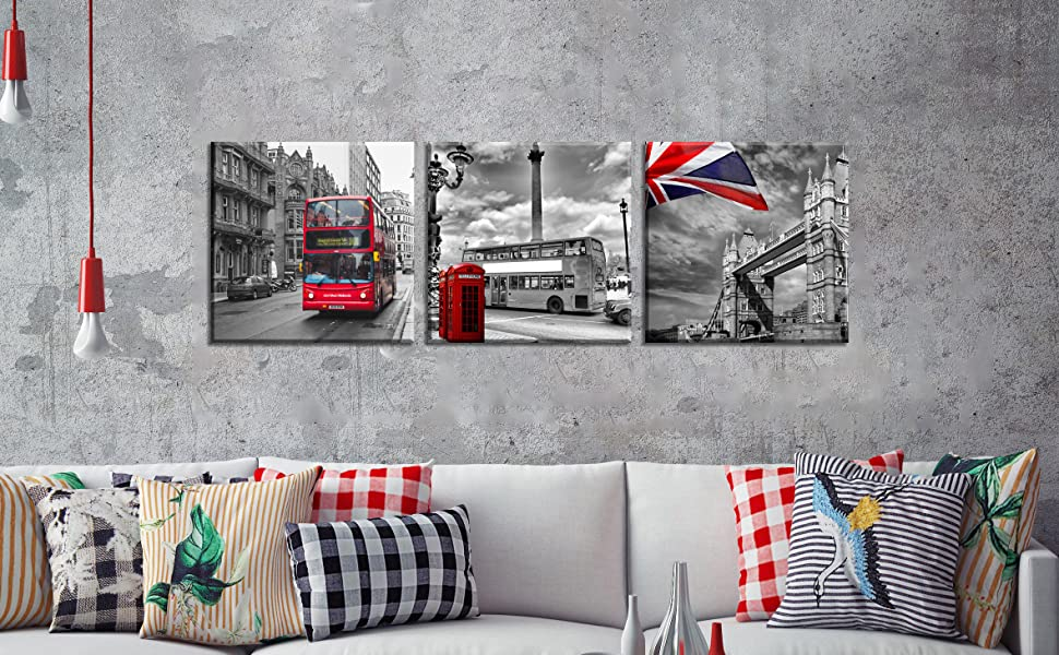 RED HOT PANTS LARGE CANVAS WALL ART PICTURES PRINTS HOME DECOR SIZE VARIETY
