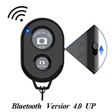 Bluetooth remote shutter control ,remote control holder,  phone tripod with remote