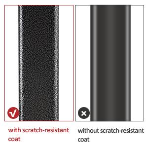 Scratch-resistant coat