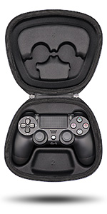 fit ps4 playstation dualshock 4 wireless controller gamepad holder storage case pouch