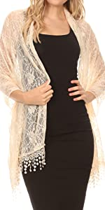 scarf lightweight sheer summer casual event solid bride formal work dress cape shawl scarf soft