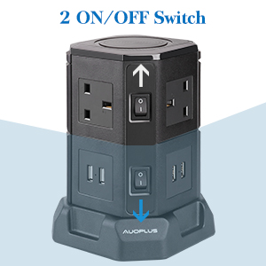 Dual Power Switches