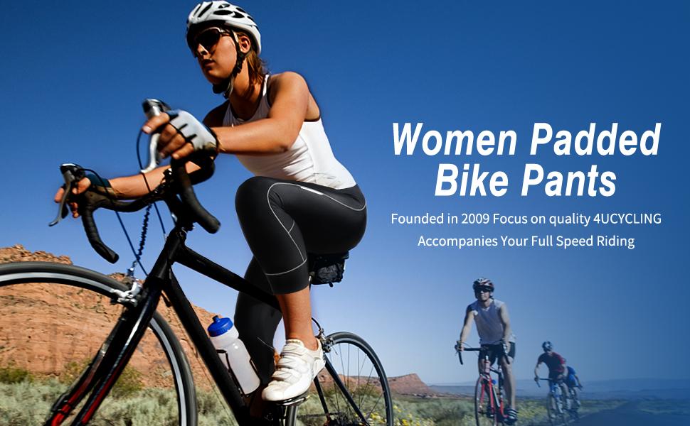 padded bike shorts women