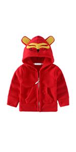 Kids Full-Zip Animal Fleece Jacket