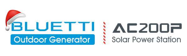 bluetti ac200p solar power station outdoor generator solar power generator home battery backup van