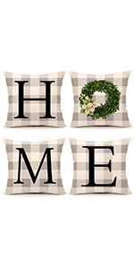 summer fall winter grey white blooms quote wreath lettering holiday decoration vintage farmhouse